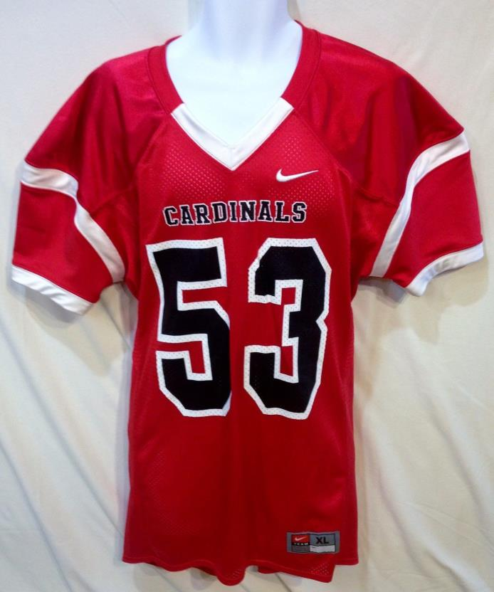 Nike NFL Arizona Cardinals Official Jersey, Red, Size XL Slim