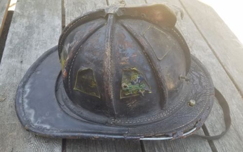 Original  -   FDNY -   Leather  Fire  Helmet