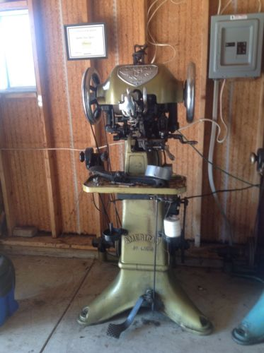 American A & B Stitcher - Shoe Repair Machine