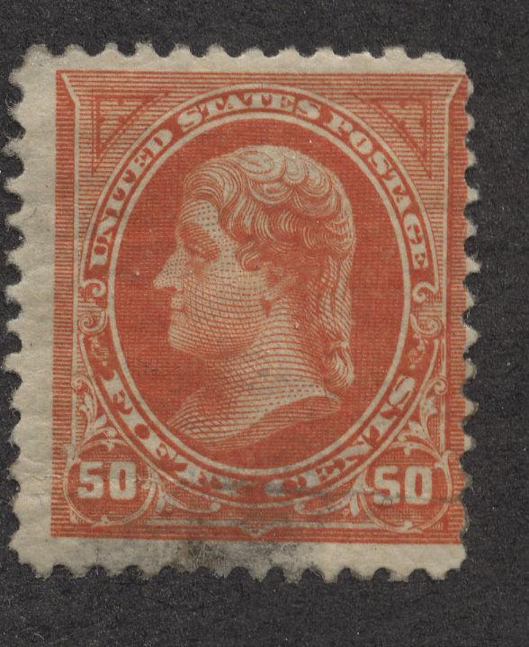 U.S. stamp,   Scott # 260, Unused