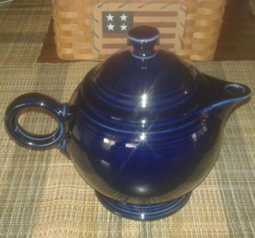 Fiesta Cobalt Blue Teapot