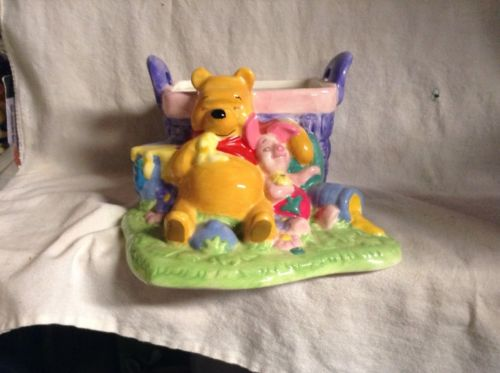 Winnie The Pooh Flower Holder Collectible