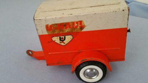 Vintage Metal Toy U-Haul Trailer NYLINT