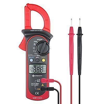 Clamp Meters Etekcity MSR-C600 Digital Clamp Meter , Auto-Ranging Multimeter AC