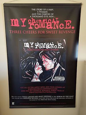 My Chemical Romance Three Cheers Vinyl Double Sided Poster 24