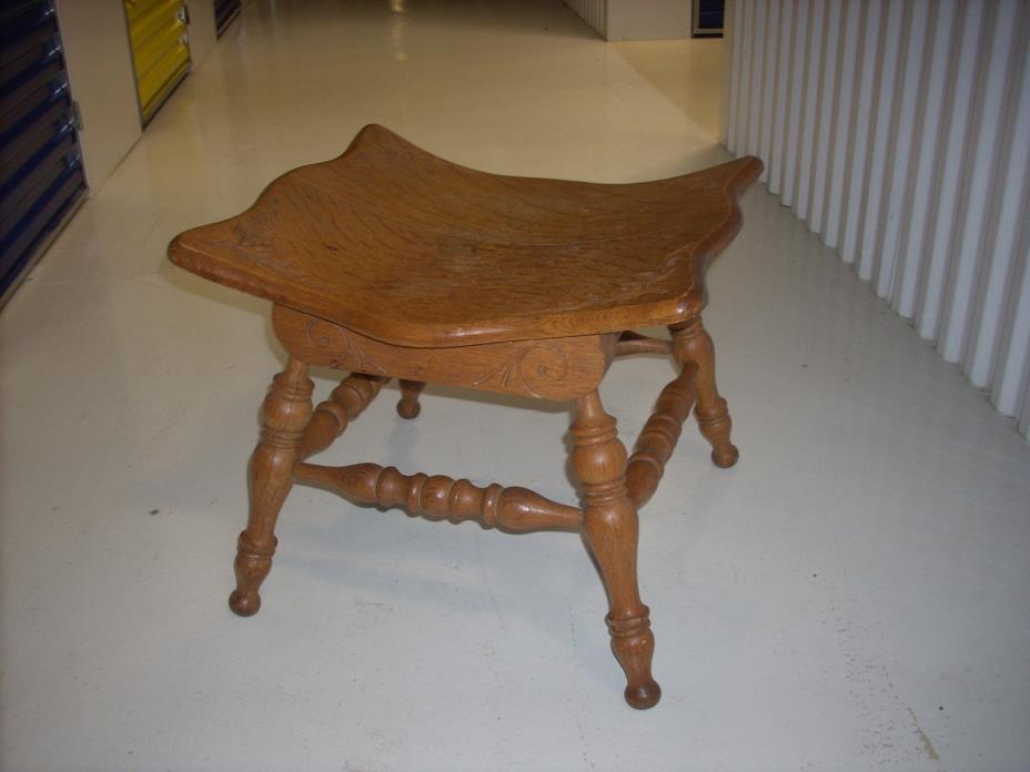 Antique Saddle Bench Cortland NY