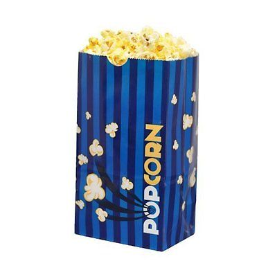 Concession Vending Equipment Hoosier Hill Farm Laminated Popcorn Bags - 2.5 oz.