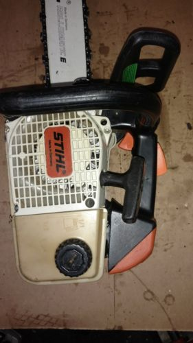 stihl chainsaw 020 t running saw
