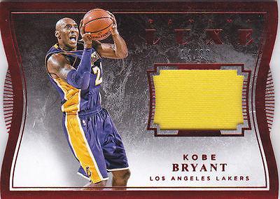 2015-16 Panini Luxe Kobe Bryant JERSEY Card