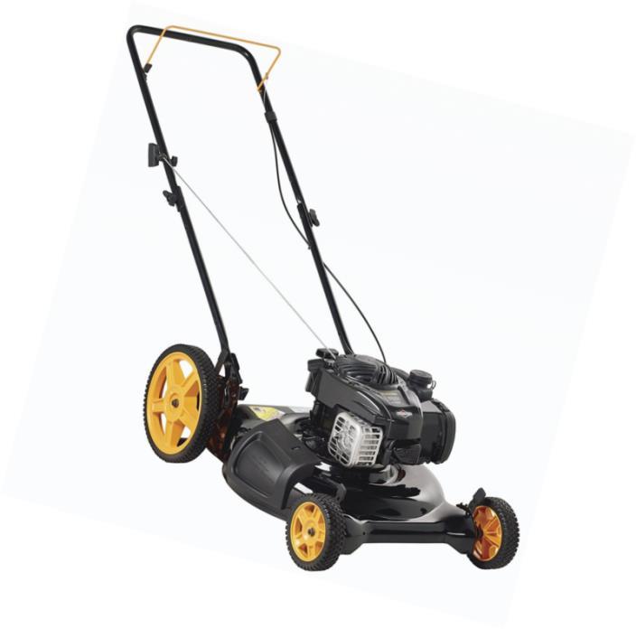 Push Mower Hi-Wheel Side Discharge & Mulch 2-in-1 21