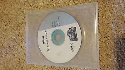 Nikon D5100 Reference Manual CD