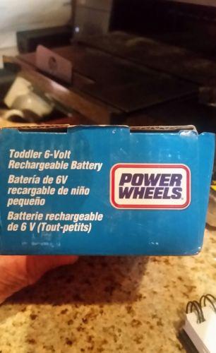 Power wheels 6 volt battery
