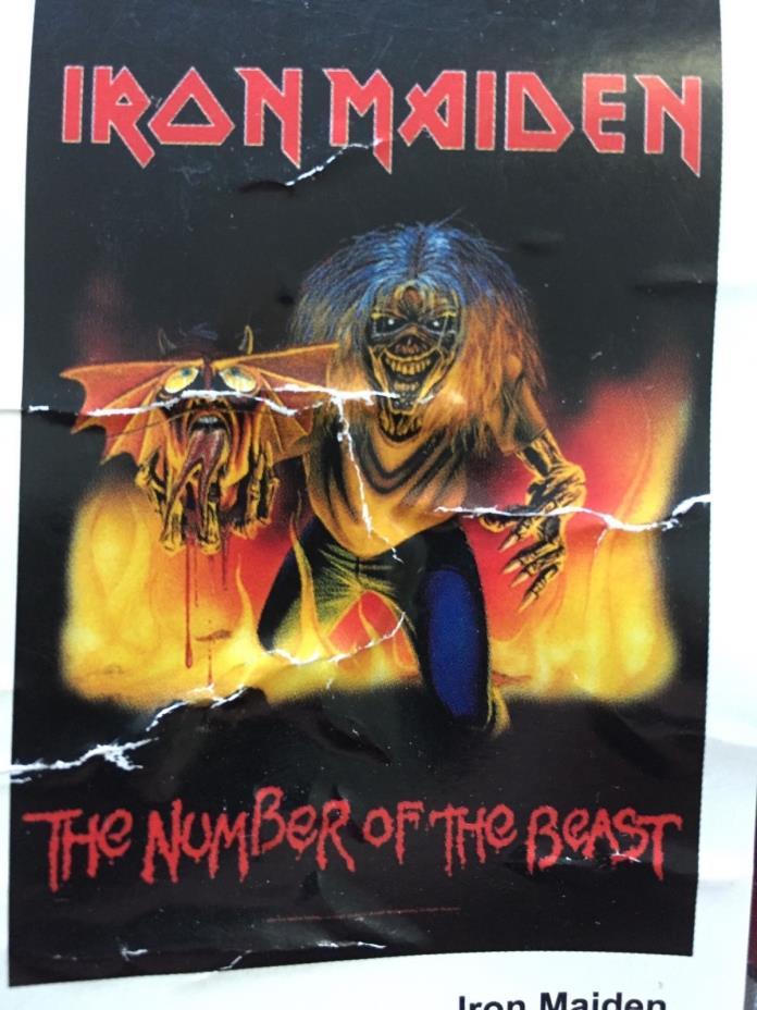 Iron Maiden Door Poster For Sale Classifieds
