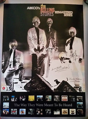 ABKCO The Rolling Stones Remastered Series poster