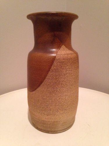 Original Art Pottery Vase - Large! Mid Century 1970s