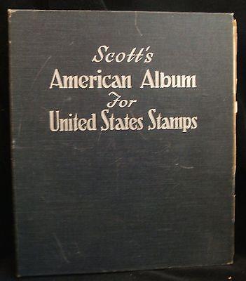 Vintage 1958 Scott's American Album For United States Stamps Book Binder