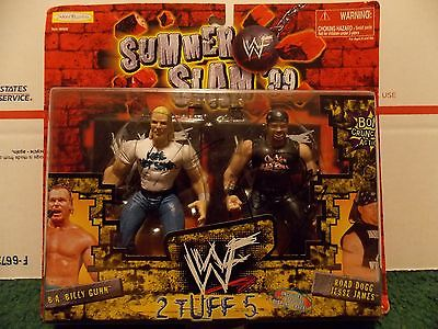 SIGNED WWF WWE Jakks Sumerslam 99 2 tuff 5 b.a. billy gunn road dogg jesse james