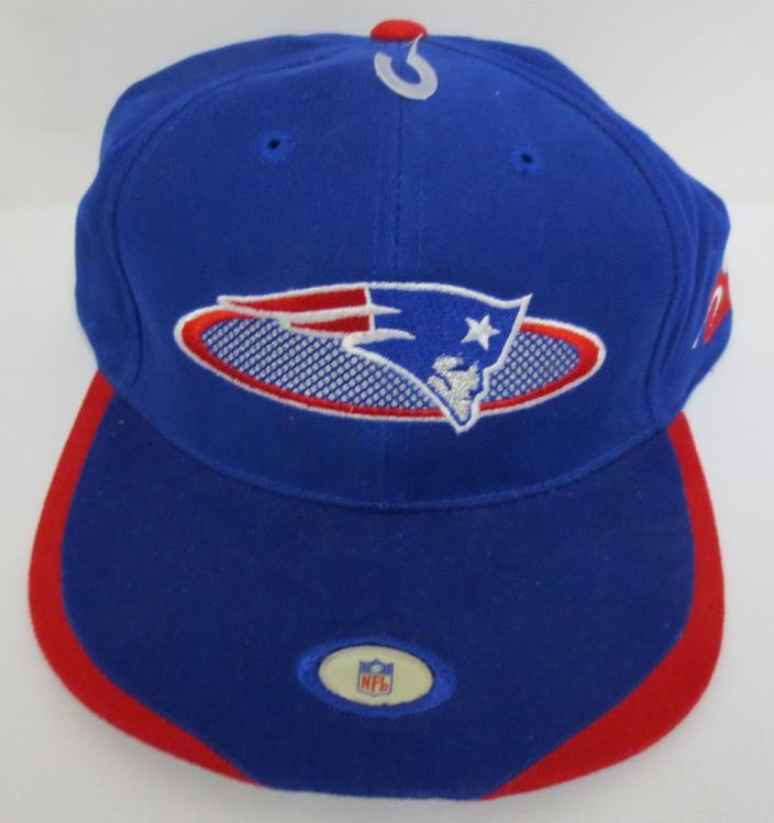 NEW ENGLAND PATRIOTS ADJUSTABLE HAT CAP VINTAGE RETRO VTG NFL FOOTBALL PRO LINE