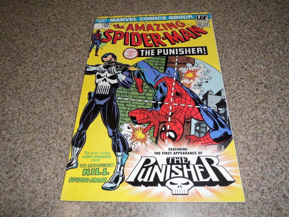 AMAZING SPIDERMAN 129