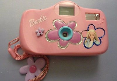 Vintage Mattel Barbie Pink Camera 110 Film