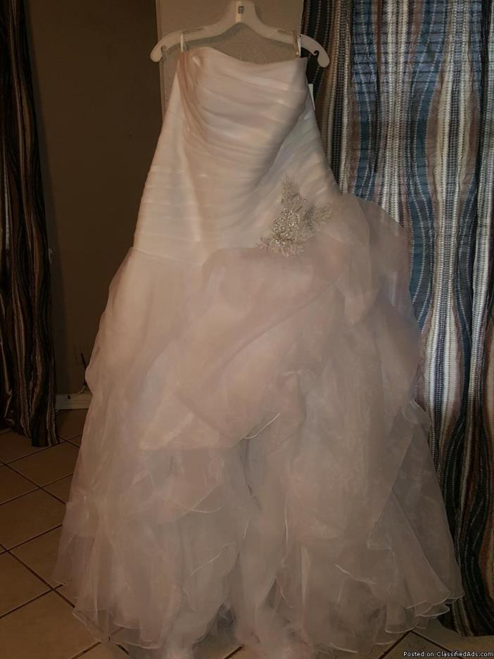New Davids Bridal wedding dress