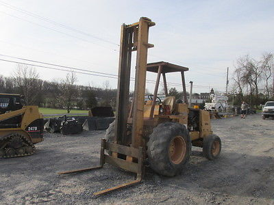 1991 Case 585E 2wd Rough Terrain Forklift!
