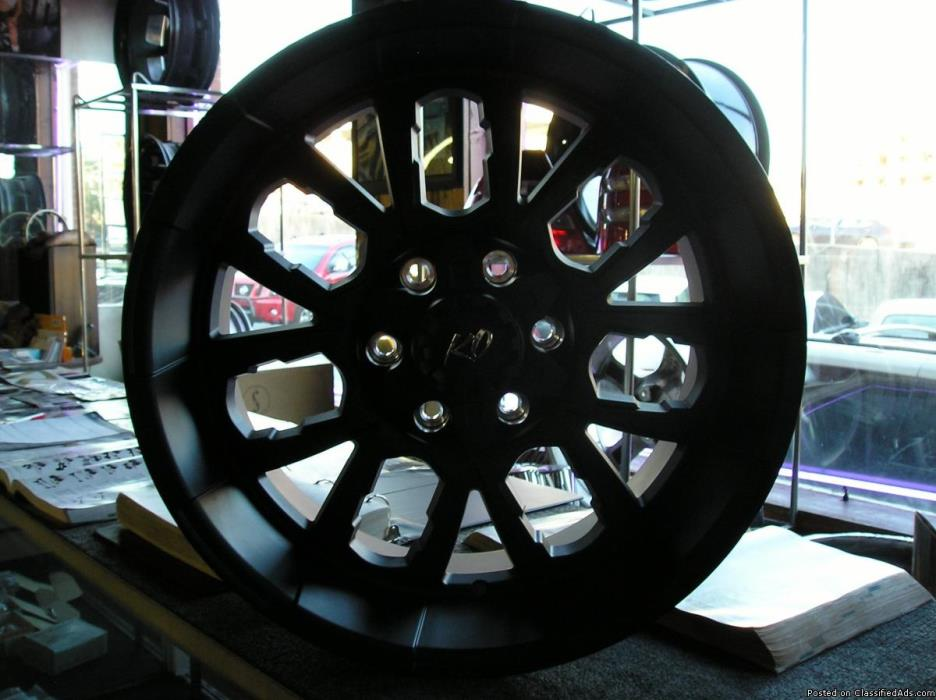 4 20 inch KO wheels  atlanta (with shipping available
