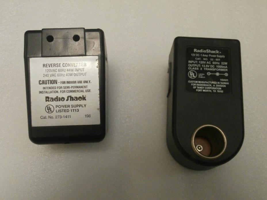 Radio Shack Transformer - For Sale Classifieds