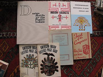 13 Books Pamphlets Southwest New Mexico Navajo Pueblo Native Americans Indians