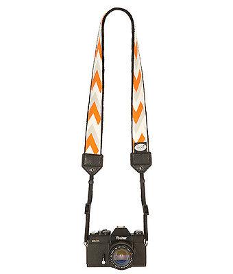 Orange Summit Classic Camera Strap