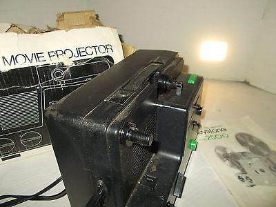 Keystone 2500 Vintage 8mm Variable Speed Movie Projector