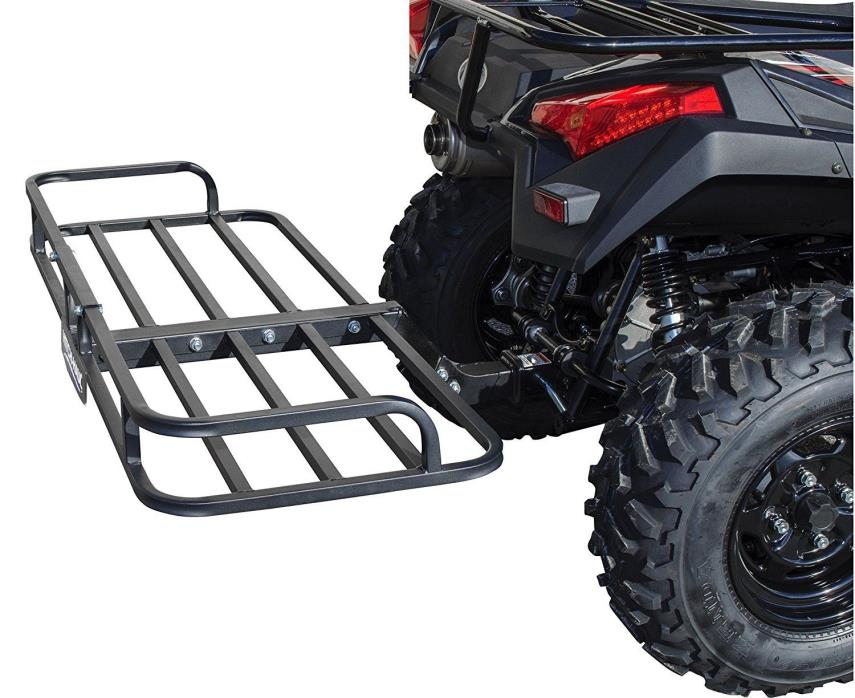 Hitch Haul 30110814 Black ATV Cargo Carrier 150 pound capacity New!