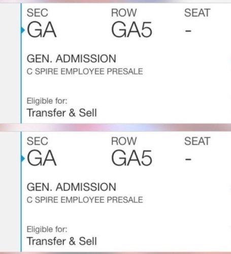 Kenny Chesney Tickets 05/20/17 (Madison)