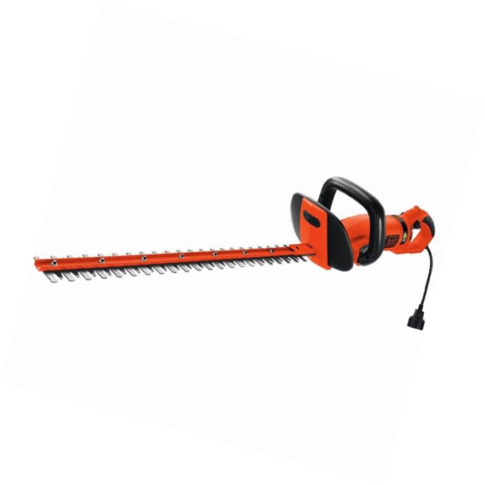 BLACK+DECKER HH2455 3.3-Amp HedgeHog Hedge Trimmer with Rotating Handle And Dual