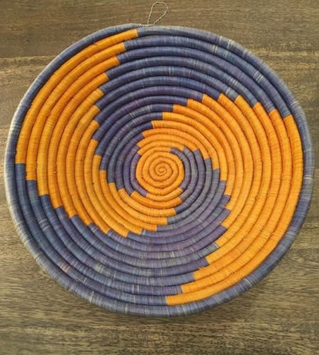 Vintage Native American Old Apache Indian Hand Woven Basket #Shelf