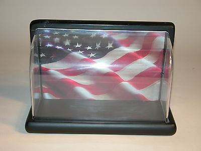 DISPLAY CASE  PLASTIC FRANKLIN MINT MOTORCYCLE DISPLAY CASE
