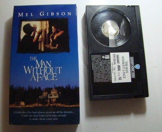 The Man Without A Face BETA TAPE Mel Gibson Margaret Whitton Fay Masterson
