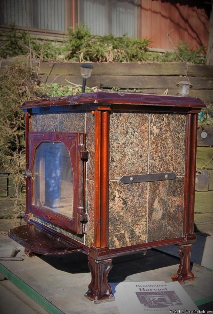 wood stove HEARTHSTONE HARVEST gem