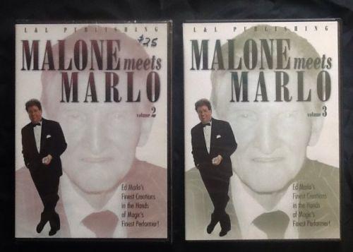 DVD- Bill Malone Meets Ed Marlo-Magic Card Tricks
