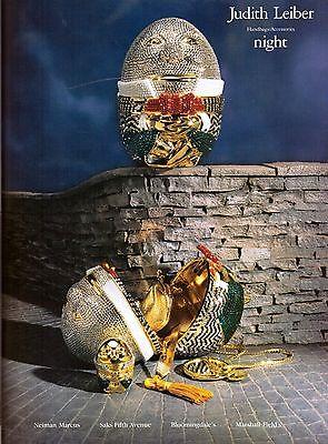 1995 Judith Leiber Humpty Dumpty Egg Purse Print Ad Vintage Advertisement 90s