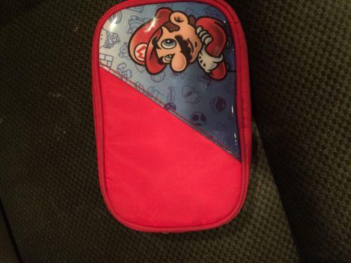 Nintendo 3DS, DS & DSi - Super Mario - Universal Case - Red