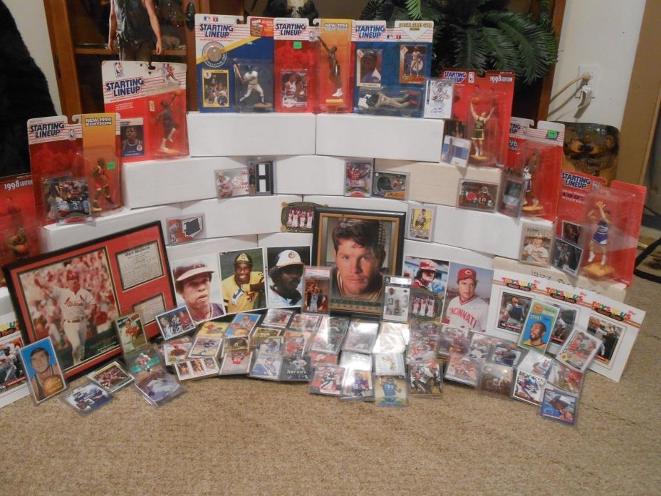 Huge Sport Card Collection , Autographs , Game-Used , Vintage , Rookies