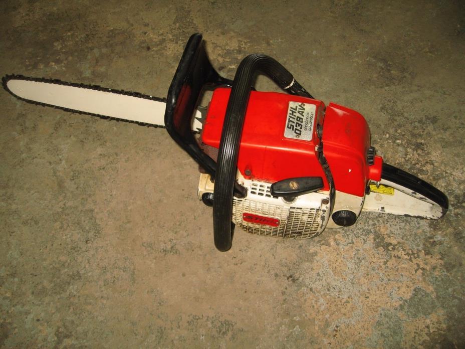 Stihl 038 AV Gas-Powered Chainsaw