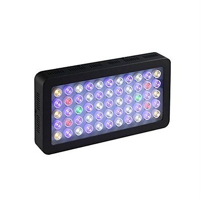 Aquarium LED Light, ICOCO 55x3W 165W LED Dimmable Full Spectrum Aquariam Light