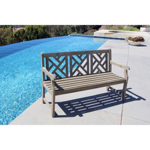 Vifah Acacia Garden Bench