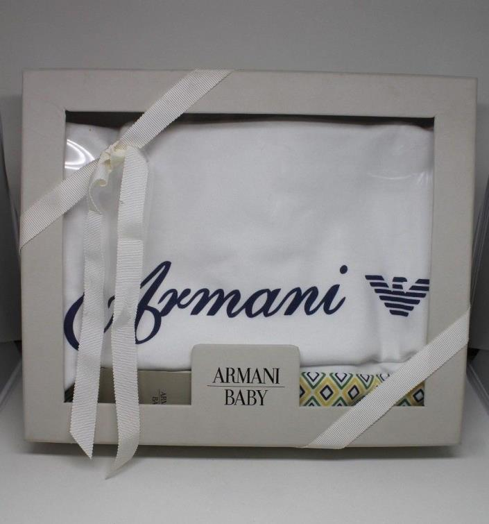 Armani Baby Blanket Limited Edition Holt Renfrew Collaboration NEW