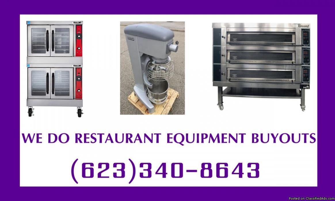 We'll Buy Your Restaurant Equipment