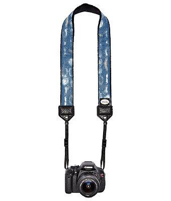 Blue Wash Classic Camera Strap