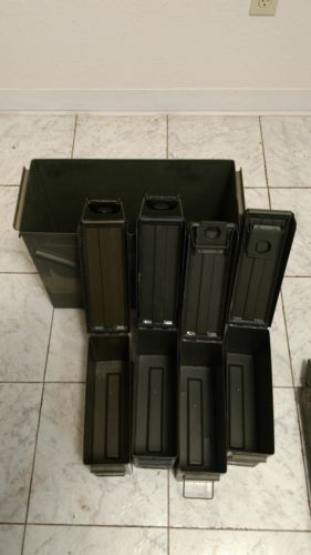 Ammo Cans 1-20mm and 4-30cal