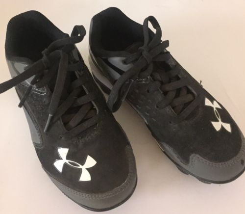 Boy's Under Armour Authentic MLB Baseball Cleats Athletic Shoes Size 12K
